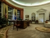 Oval Office in der Ronald Reagan Presidential Library in Simi Valley