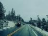 Wetter auf dem Weg von Sonora durch den Yosemite Nationalpark