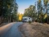 unser Stellplatz auf dem Anthony Chabot Campground