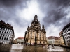 Frauenkirche in Dresden am 10.07.2018
