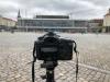 vor'm Kulturpalast in Dresden am 10.07.2018