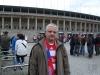 2010 am 08.05. vor dem Berliner Olympiastadion