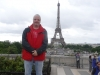 im Mai 2014 vor dem Eiffelturm