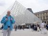 im Mai 2014 vor'm Louvre