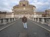 2014 im Dezember vor der Engelsburg in Rom