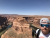 im September 2019 am Horseshoe Bend