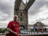 im Mai 2017 auf der Tower Bridge in London