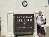 im September 2019 auf Alcatraz Island