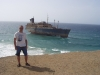 2003 vor der American Star vor der Küste von Fuerteventura