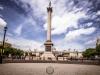 Nelson's Column auf dem Trafalgar Square in London