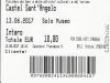 Eintrittskarte Engelsburg