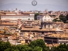 Blick vom Giannicolo auf Rom