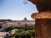 Blick auf den Petersdom