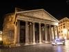 Pantheon in Rom bei Nacht
