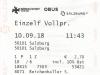 Salzburg 2018: Einzelfahrschein