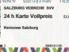 Salzburg 2018: ÖPNV-Tageskarte