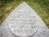 Gedenkstein am Ort des Anschlags auf Siegfried Buback