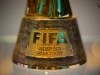 FIFA Women's World Cup Trophy im FIFA World Football Museum in Zürich