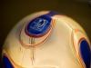 Spielball der Frauen-WM 2007 im FIFA World Football Museum in Zürich