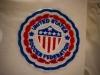 Trikot der amerikanischen Frauen-Nationalmannschaft im FIFA World Football Museum in Zürich