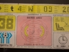 Eintrittskarte des WM-Endspiels 1978 im FIFA World Football Museum in Zürich