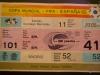 Eintrittskarte des WM-Endspiels 1982 im FIFA World Football Museum in Zürich