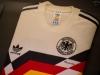 Trikot von Lothar Matthäus aus dem WM-Endspiel 1990 im FIFA World Football Museum in Zürich
